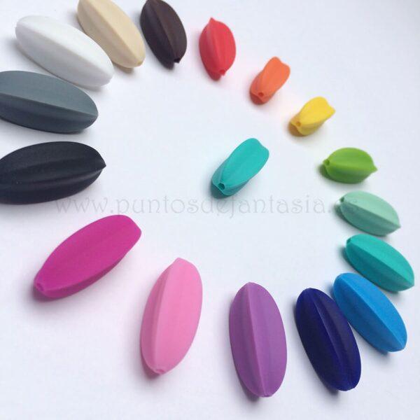 Aspas de silicona alimentaria 30mm