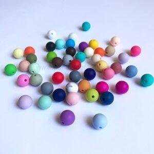 Bolas 12mm de silicona alimentaria