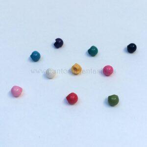 Mini botones de seta 5mm