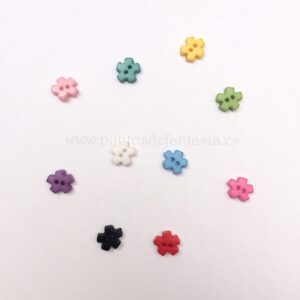 Mini botones de puzzle 6mm