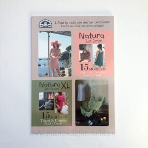 DMC Natura 15 modelos tricot y crochet