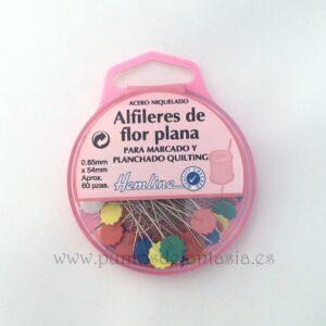 Alfileres de Flor Plana