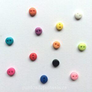Mini botones 6mm
