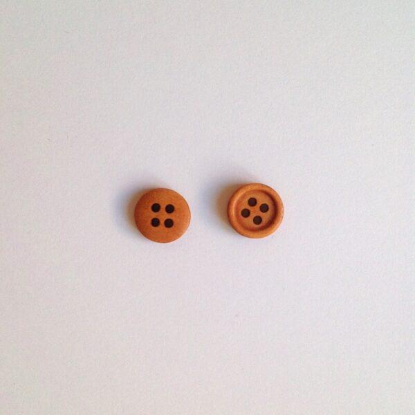 Botones madera 11mm