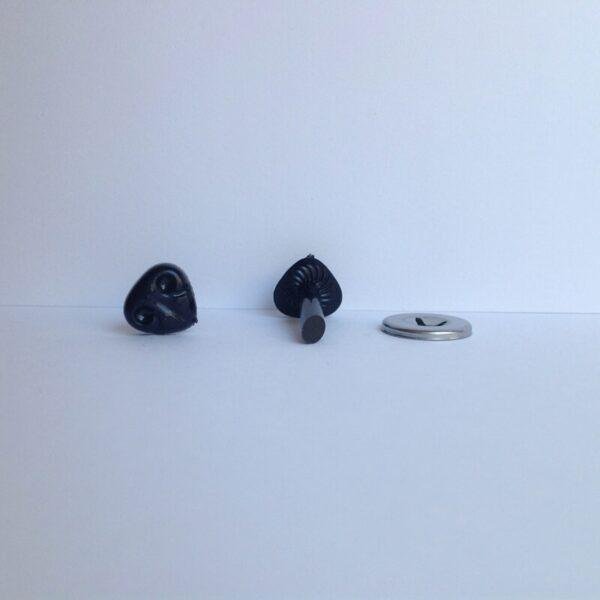 Narices de Perro color negro