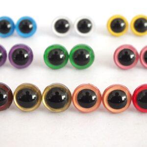 Ojos con Iris 9mm Modelo 2