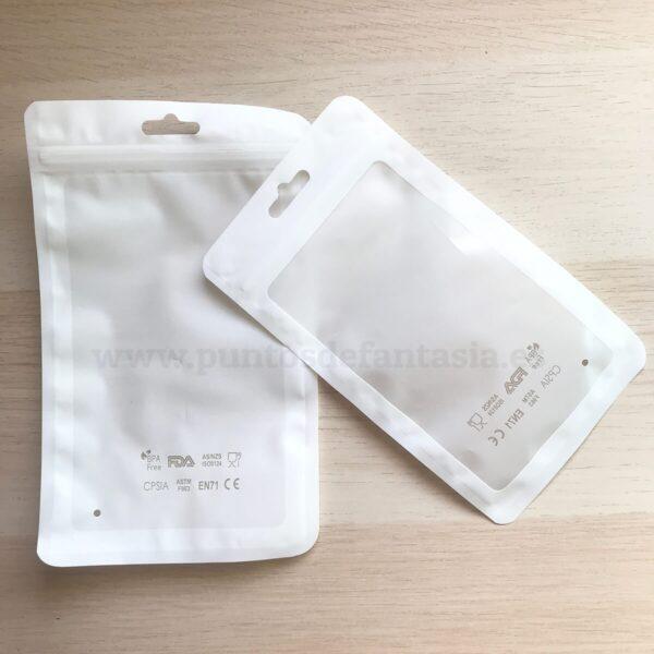 Bolsas para silicona alimentaria