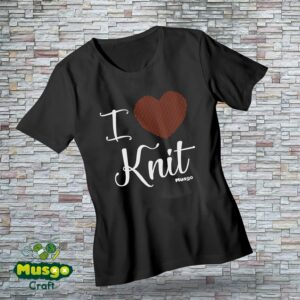 "Camiseta ""I love Knit"""