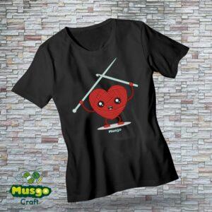 "Camiseta ""Corazón lanero"""