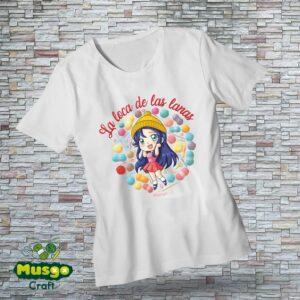 "Camiseta ""La loca de las lanas"""