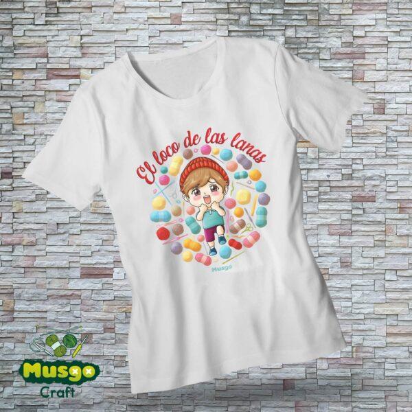 """Camiseta """"El loco de las lanas"""""""