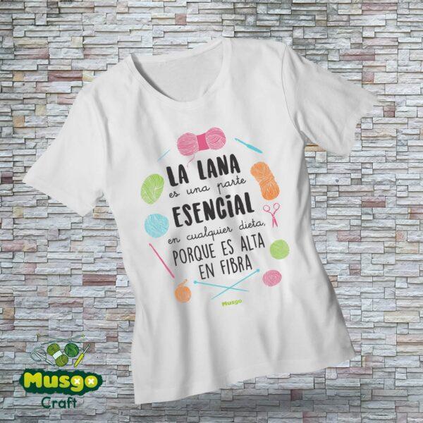 """Camiseta """"Dieta de lana"""""""
