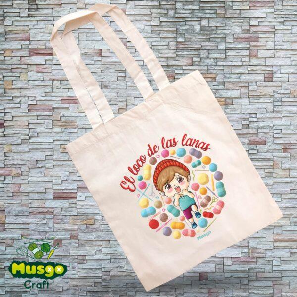 """Tote Bag """"El loco de las Lanas"""""""