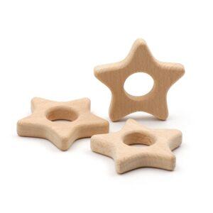Figura de madera Estrella