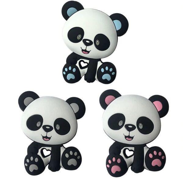Oso Panda de silicona 91mm