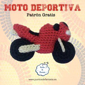 Patrón Moto Deportiva